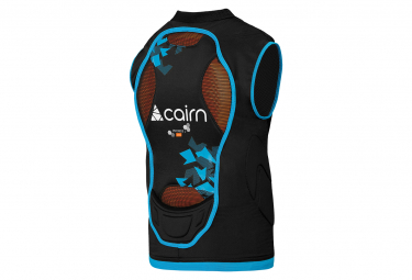 Cairn Proride D3O Protective Vest with Back Protector Child / Black / Blue