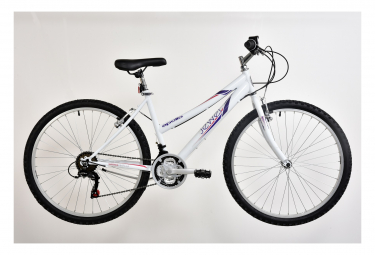VTT 26'' Apollo Rigide Femme Acier - 18 vitesses -  Shimano - Fourche Rigide - V-brake