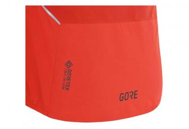 Veste à Capuche Gore R7 Partial Gore-Tex Infinium Rouge / Noir