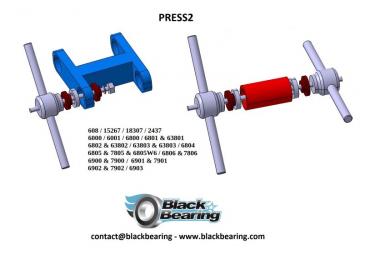Presse de montage blackbearing - PRESS2