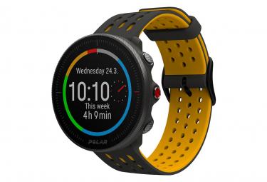 Polar Vantage M2 GPS Watch Grey Yellow