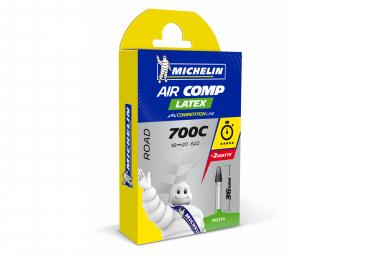 MICHELIN Chambre à air A1 AIRCOMP Latex 700x18/20 Valve presta 36mm