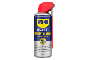 WD-40 Silicone Specialist Double Position Lubricant 400ml