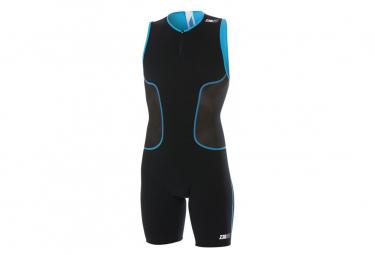 Z3rod Isuit Black / Atoll Blue Suit
