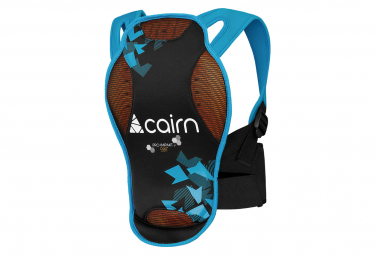 Back protector Cairn Pro Impakt D3O J Black / Azure Blue Camo