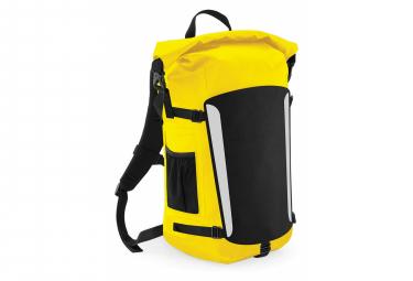 Quadra Submerge - Sac à dos 25 litres imperméable - Adulte unisexe (Jaune/Noir) - UTBC3799