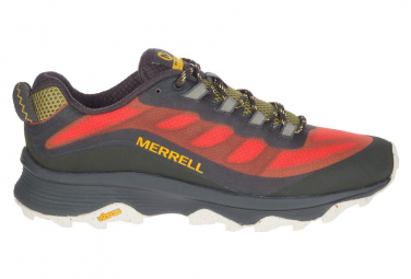 Chaussures de Randonnée Merrell Moab Speed Rouge Homme