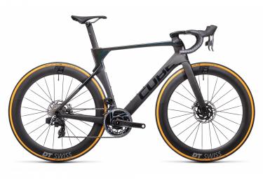 Bicicleta de carretera Cube Litening C:68X SLT Sram Red eTap AXS 12S 700 mm Gris carbón Prizmblack 2021