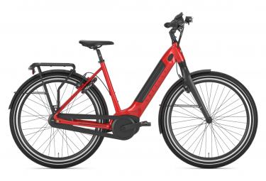 Vélo de Ville Électrique Gazelle Ultimate C8+ HMB L Shimano Nexus 8V 500 Rouge 2021