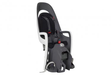 Hamax Caress Reclinable Rack Mounted Child Bike Seat White Grey Black