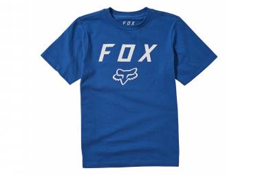 Camiseta De Manga Corta Para Ninos Fox Legacy Moth Azul Kid M