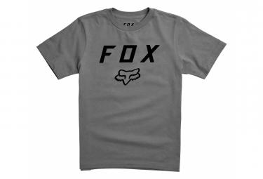 Camiseta De Manga Corta Para Ninos Fox Legacy Moth Gris Kid L