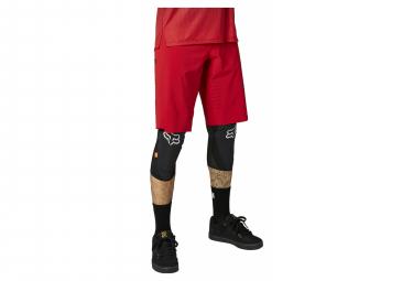 Pantalones Cortos Fox Flexair Sin Piel Rojo 28