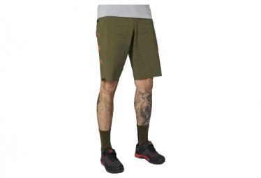 Pantalones Cortos Sin Piel Fox Flexair Verde 30