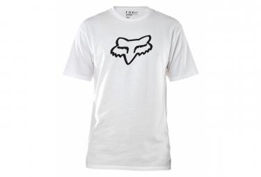 Camiseta De Manga Corta Fox Legacy Head Blanca L