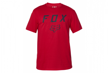 Camiseta De Manga Corta Fox Legacy Moth Roja Xl