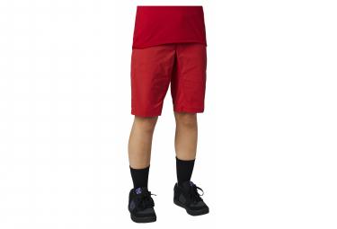 Shorts Pitillo Rojos Fox Ranger Para Mujer S