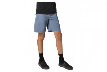 Shorts Ajustados Para Ninos Fox Ranger Azul 24