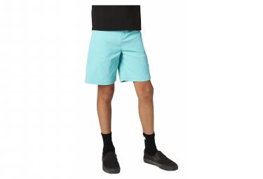 Shorts De Nino Con Piel Color Turquesa Fox Ranger 24