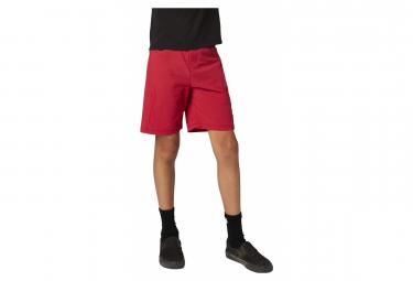 Pantalones Cortos Para Ninos Fox Ranger Con Piel Roja 28
