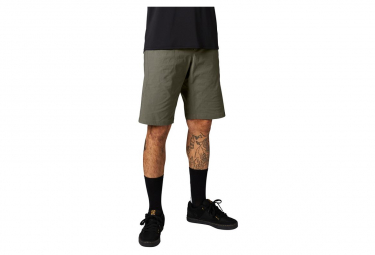 Pantalones Cortos De Piel Fox Ranger Lite Verde 28