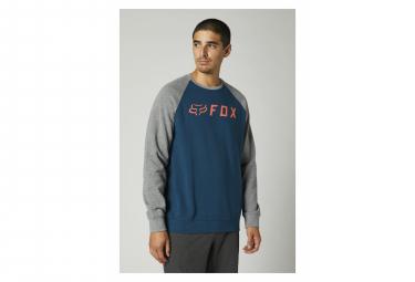 Sweat Fox Apex Crew Fleece Bleu Foncé