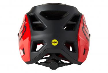 Casco Fox Speedframe Pro Noir / Rouge