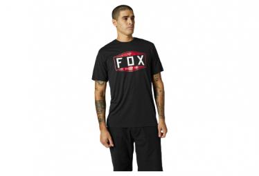 Camiseta De Manga Corta Fox Emblem Negra L
