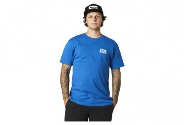 Camiseta Fox Traditional Premium De Manga Corta Azul L
