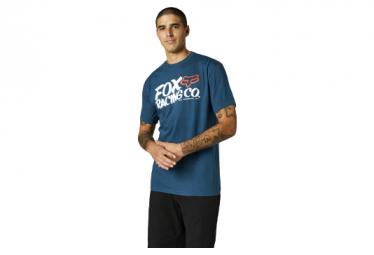 Camiseta Fox Wayfarer De Manga Corta Azul Oscuro S