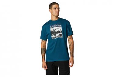 Camiseta De Manga Corta Fox Decrypted Azul Oscuro M