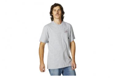 Camiseta De Manga Corta Fox Fastlane Sweatcket Gris Xl