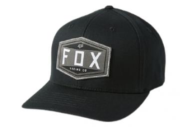 Gorra Fox Emblem Flexfit Negra