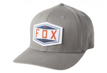 Gorra Fox Emblem Flexfit Gris L Xl