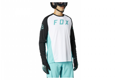 Maillot Manches Longues Fox Defend Blanc