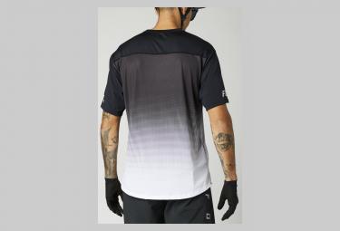 Fox Flexair Short Sleeve Jersey Black / White