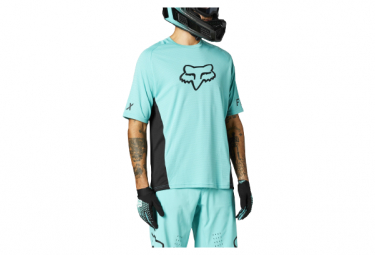 Maillot Manches Courtes Fox Defend Turquoise