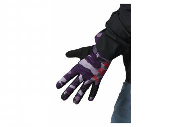 Fox Ranger Women's Purple Camo Gloves Pair