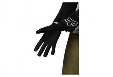 Gants Longs Femme Fox Ranger Noir