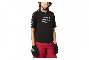 Maillot Fox Ranger Dr Kids Manga Corta Negro Kid Xl