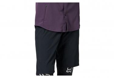 Shorts Pitillo Para Mujer Fox Flexair Lite Negro L