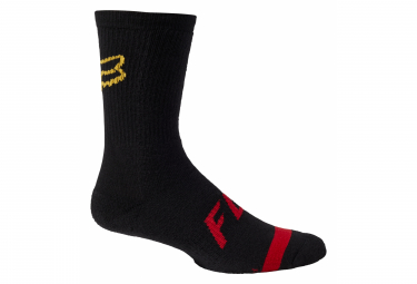 Fox 8 '' Defend Socks Black