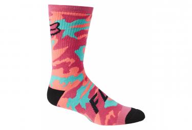 Fox 8 '' Defend Pink Socks