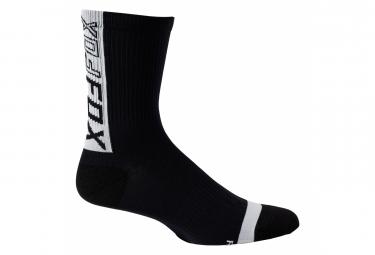 Calcetines Fox 6 - Noir / Blanc