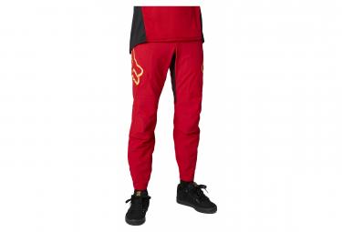 Pantalones Fox Defend RS rojo