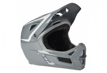 Casco Integral Fox Rampage Comp Repeat Blanco   Gris Xl  61 64 Cm