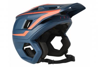 Casco Fox Dropframe Pro Blu scuro / Rosso