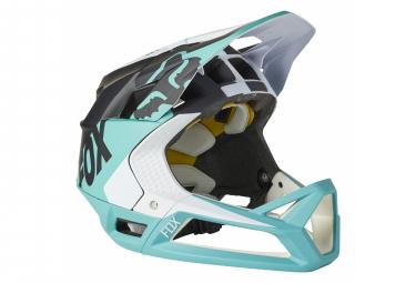 Fox Proframe Mips Full Face Helmet Black / Turquoise