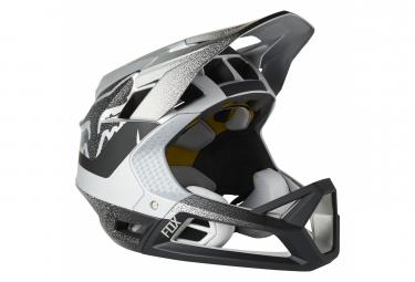 Fox Proframe Full Face Helmet Silver / Black