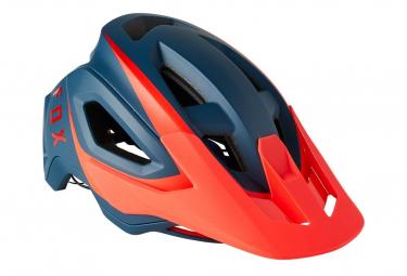 Fox Speedframe Pro Helm Dunkelblau / Rot